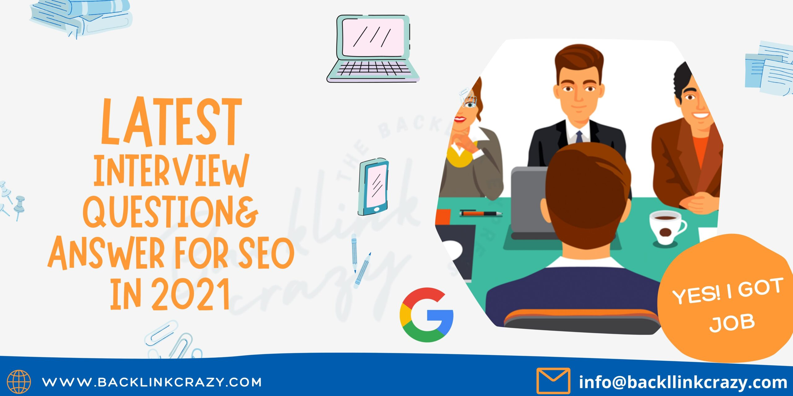 Latest Interview Question for seo